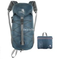 New Hiking Camping Travel Outdoor Backpack Rucksack Foldable Waterproof Bag