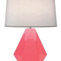 "Robert Abbey Robert Abbey Delta Schiaparelli Pink 22 1/2"" High Table Lamp from Lamps Plus 