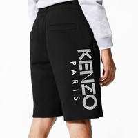 KENZO spring and summer new printed letters loose casual sports shorts