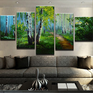 In To The Woods Canvas Set