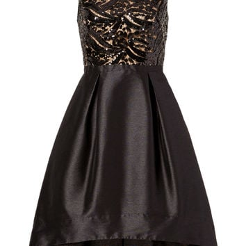 ML Monique Lhuillier Back Down Dress