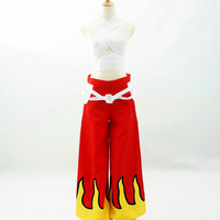 [Commission request] Fairy Tail Erza Scarlets Hakama Cosplay Outfit CP154105