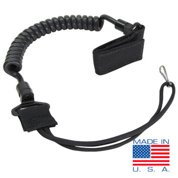 Pistol Lanyard Color- Black