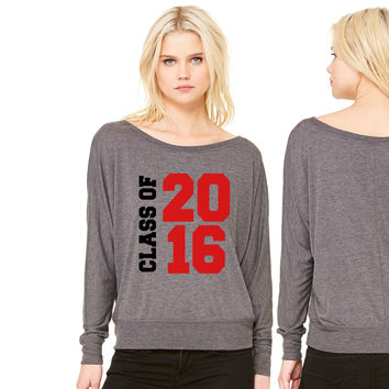 Class of 2016 women's long sleeve tee
