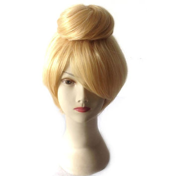 Tinker Bell Wig, Tinkerbell Cosplay Wig