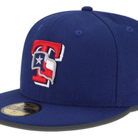 Texas Rangers MLB Logo Lush 59FIFTY Cap