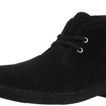 206 Collective Men's Pine Chukka Boot, Black, 8 D US