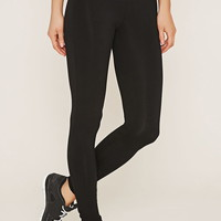 Active Contrast-Panel Leggings | Forever 21 - 2000152162