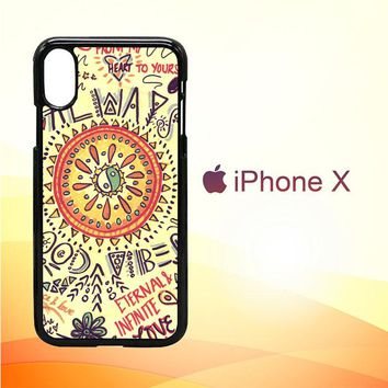 American Hippie Psychedelic L1340 iPhone X Case