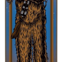 Santa Cruz Star Wars Chewbacca (Deck Only) 8.26