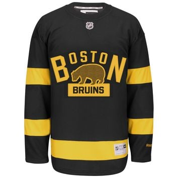Boston Bruins 2016 NHL Winter Classic Premier YOUTH Replica Hockey Jersey