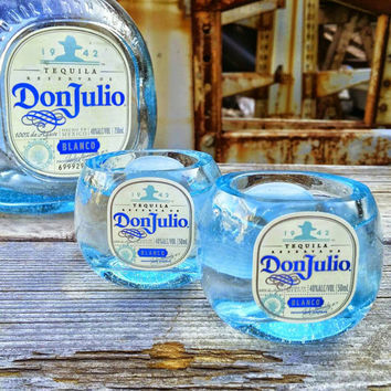 Don Julio Tequila Upcycled Shot Glasses