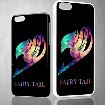 Fairy Tail Logo Galaxy Space Z0172 iPhone 4S 5S 5C 6 6Plus, iPod 4 5, LG G2 G3, Sony Z2 Case