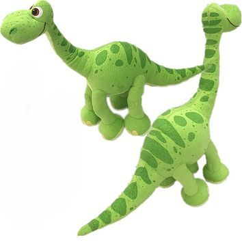 2 styles cute Pixar Movie The Good green Dinosaur Arlo Dinosaur Stuffed Animals Plush Soft Toys for kids christmas gifts