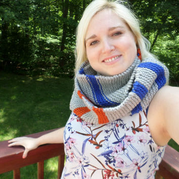 Portal-Inspired Infinity Scarf