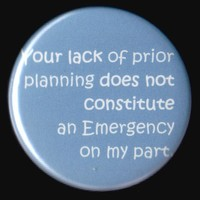 Not My Problem Button by kohaku16 on Etsy