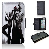 Cat Woman and Batman 2 | wallet case | iPhone 4/4s 5 5s 5c 6 6+ case | samsung galaxy s3 s4 s5 s6 case |