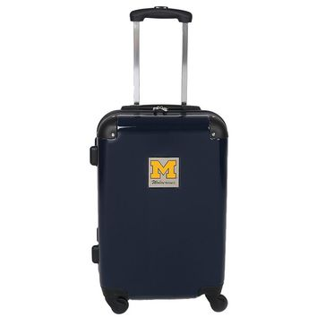 Michigan Wolverines 20-in. Hardside Rolling Spinner Suitcase (Mic Team)