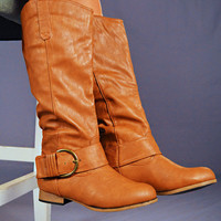 RESTOCK Strut Your Stuff Boots: Whiskey | Hope's