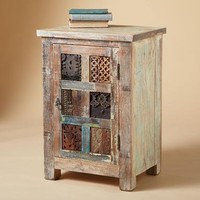 ONE OF A KIND CARVED CABINET        -                Nightstands & Dressers        -                Furniture        -                Furniture & Decor                    | Robert Redford's Sundance Catalog
