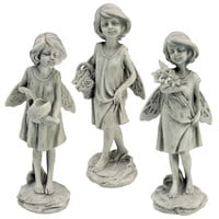 Park Avenue Collection S/3 Rose Garden Fairies