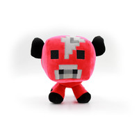 "Minecraft Red-Cow PlushToys Dolls 20CM In Stock!! 1PCS Free shipping!!""Bigger Size"""