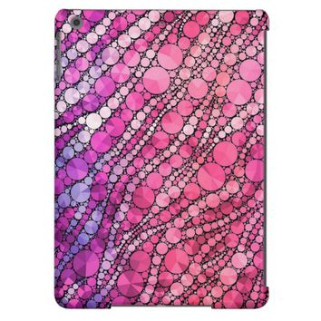 Pink Zebra Bling iPad Air Cases