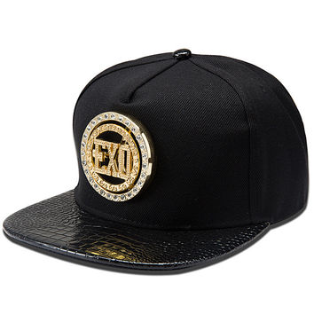 Stylish Alphabet Hip-hop Men Hats [6542823747]