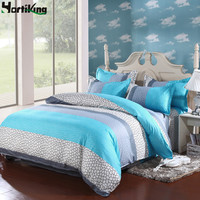 Comfortable cotton luxury bedding set duvet cover set King/Twin/Queen size quilt cover set duvet cover bed sheet pillowcase set
