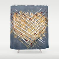:: You Knit Me Together :: Shower Curtain by :: GaleStorm Artworks ::