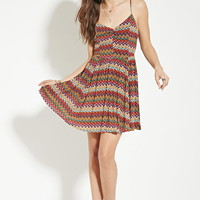 Zigzag Print Cami Dress | Forever 21 - 2000052776