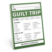 Knock Knock Guilt Trip Nifty Note - Official Shop