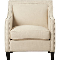 Three Posts Rotterdam Studded Arm Chair & Reviews | Wayfair