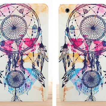 Boho Aztec Tribal Leather iPad Case