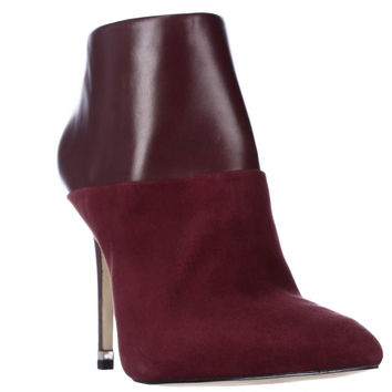 MICHAEL Michael Kors Freya Pointed Toe Dress Booties - Merlot