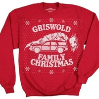 Christmas Vacation Griswold Family Christmas Sweatshirt-Shirt