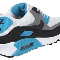 Nike Air Max 90 LE shoes white black blue