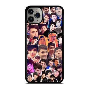 DAN AND PHIL COLLAGE iPhone Case Cover