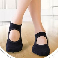 Flexibility Breathable Cotton Yoga Socks