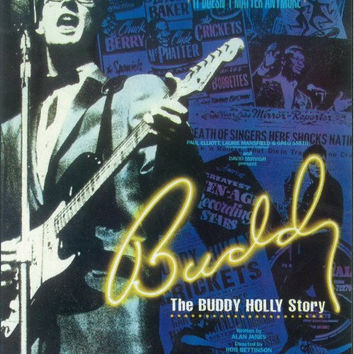 The Buddy Holly Story 11x17 Broadway Show Poster (1990)