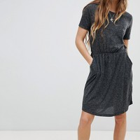 Vero Moda Gathered Waist Dress at asos.com