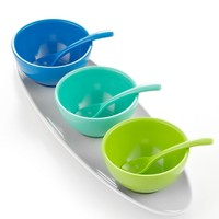 Martha Stewart Collection Serveware, Melamine 7-Piece Condiment Set - Collections - for the home - Macy's