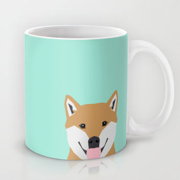 Cassidy - Shiba Inu gifts for dog lovers and cute Shiba Inu phone case for Shiba Inu owner gifts Mug by PetFriendly | Society6