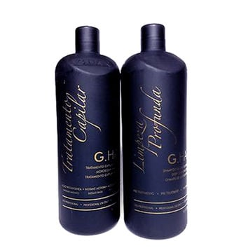 BRAZILIAN KERATIN G HAIR  MOROCCAN TREATMENT 1000ml 34oz KIT.