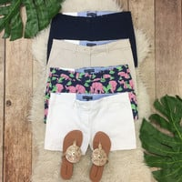 Simply Southern Twill Shorts