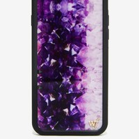 Wildflower Amethyst iPhone 6 Case