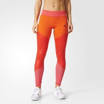 adidas Ultimate Long Tights - Red | adidas US