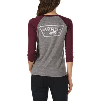 Authentic Trap Baseball Tee | Shop at Vans
