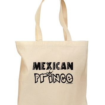 Mexican Prince - Cinco de Mayo Grocery Tote Bag by TooLoud