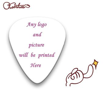 100pcs Custom Guitar Picks